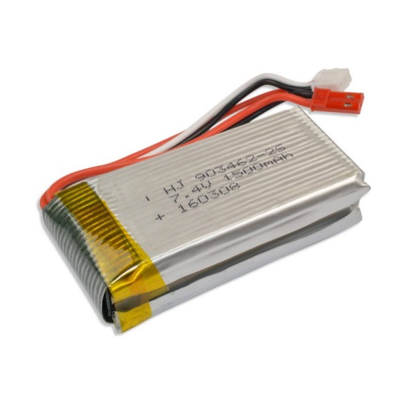 Lipo Akku 2s 7.4V 1500mAh Monstertronic  MT 400 WL-Toy V913