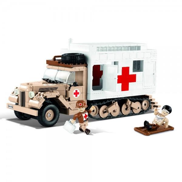 Cobi Ford V3000S Maultier Ambulance WW2