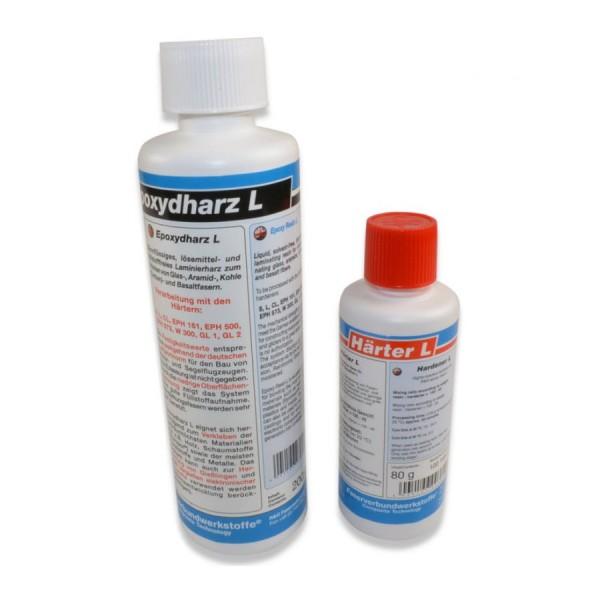 R&G 280g 40-Minuten-Epoxy - 200g Epoxidharz L + 80g Epoxidhärter L