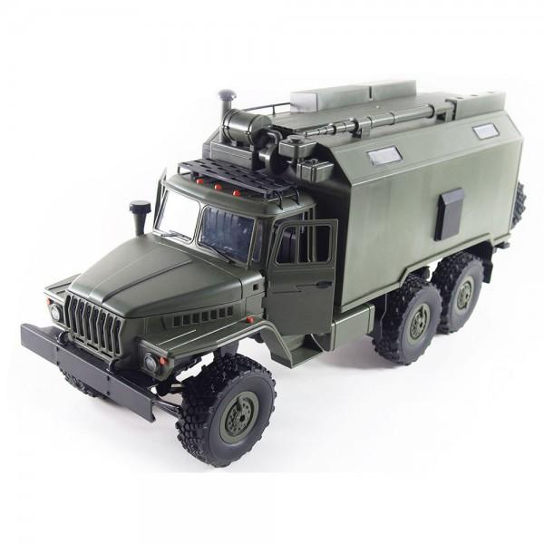Amewi Ural B36 Militär Truck 6WD RTR 1:16 grün inkl. Akku & Ladegerät