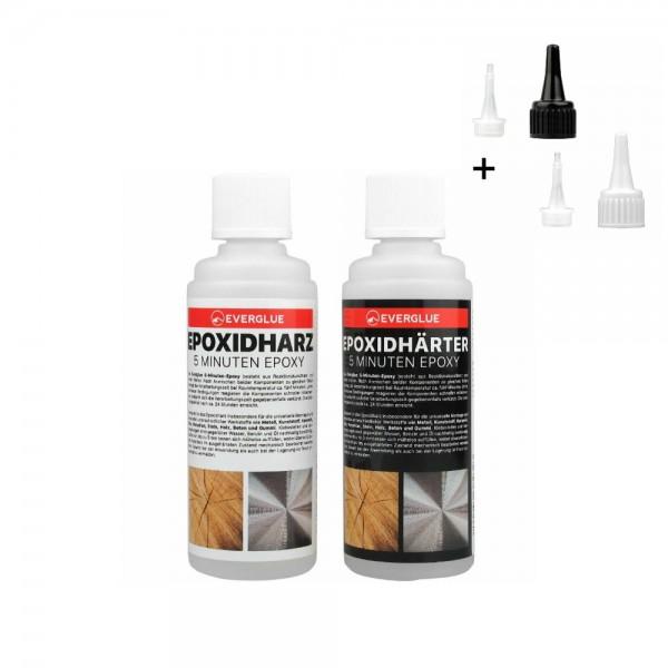 Yuki Model 5-Minuten-Epoxy 200g - 100g Epoxidharz + 100g Epoxidhärter