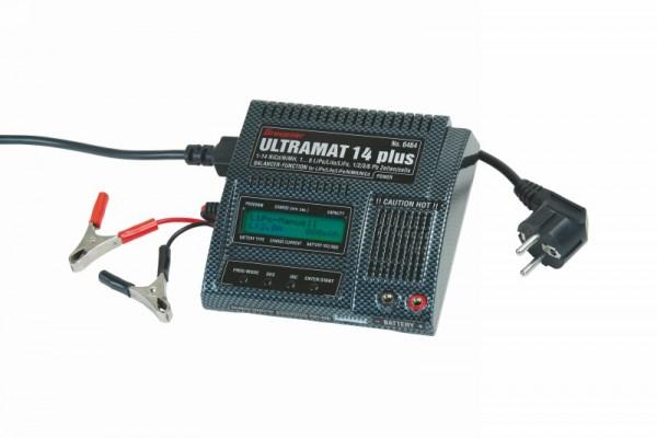 Graupner Ladegerät ULTRAMAT 14 plus Li Pb Ni 6464