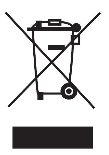 Batterieverordung - Mülltonnensymbol